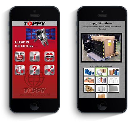 Ios - Android APP Toppy DE