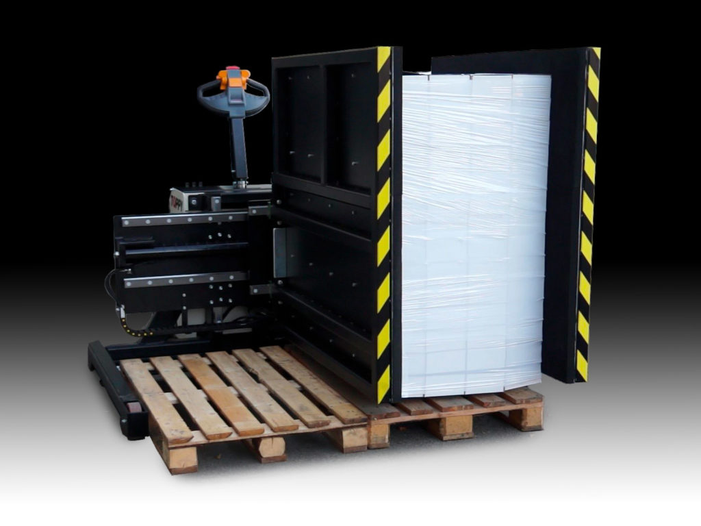 Mobile Pallet Exchanger, Toppy Side Mover
