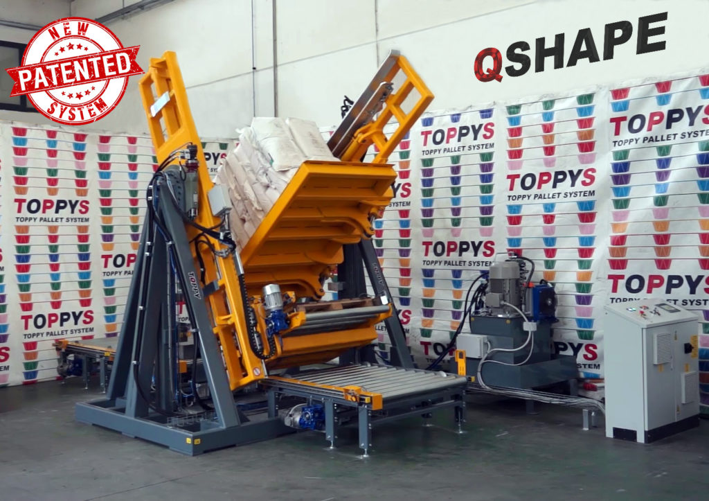 pallet-changer-q-shape patented color