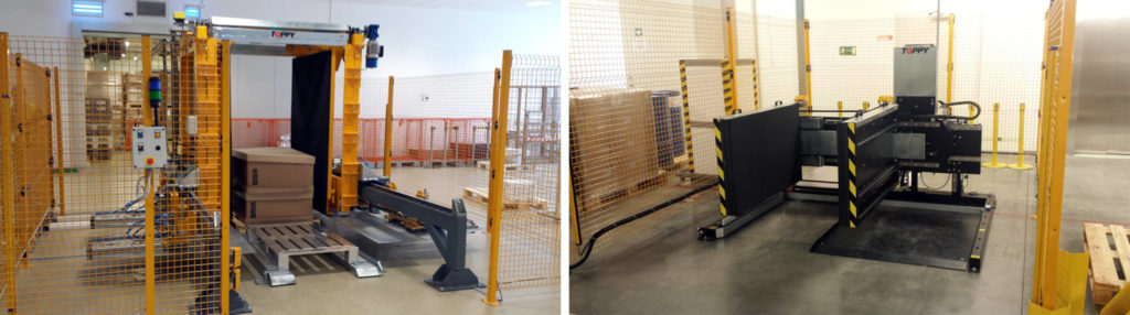 stationary pallet changers, NEW STAND-ALONE PALLET CHANGERS IN RUSSIA