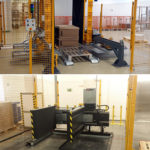 Pallet Changer in France, New pallet changer in France in Bonduelle factory