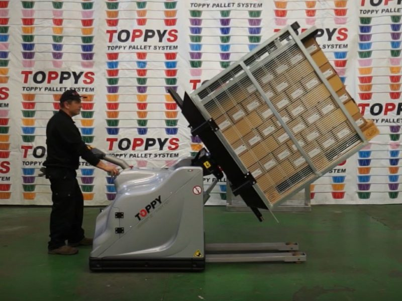 Mobile Pallet Turner Toppy Ph Adv3