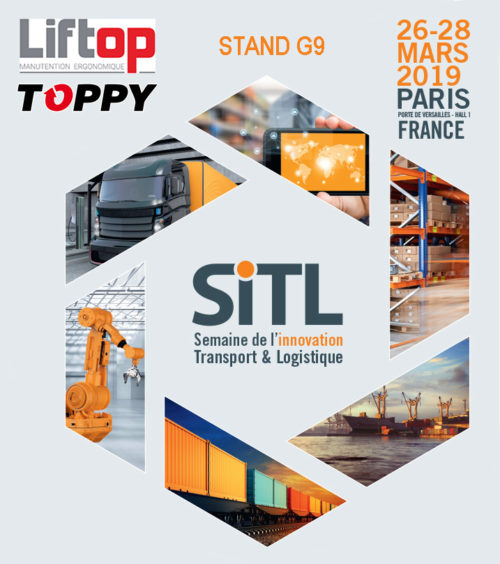 sitl 2019, TOPPY au salon SiTL 2019 de PARIS