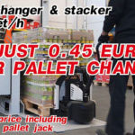 automatic pallet changer, L-Shape logy
