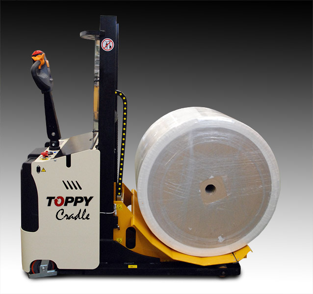 Roll Lifter Toppy Cradle down