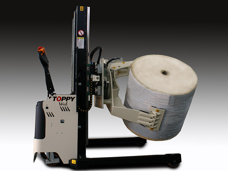 Roll Turner Web 600 with side shifter