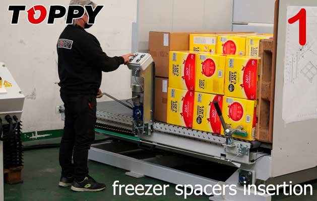 Freezer Spacers - Pallet Changer
