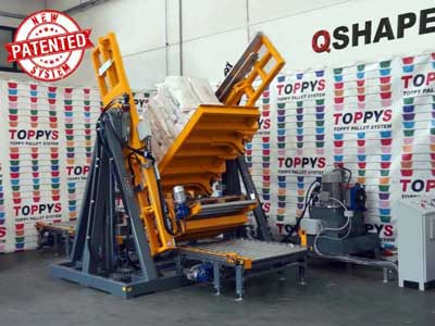 Cambia pallet Toppy Q-Shape