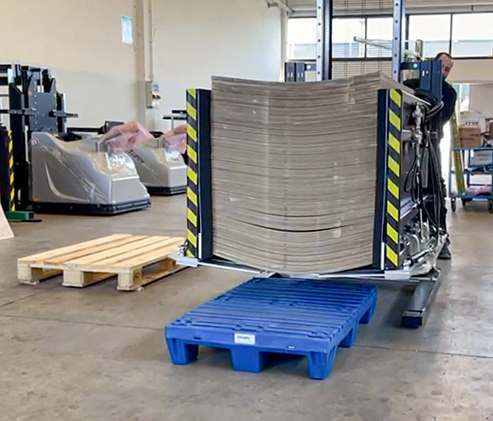 cambio pallet packaging