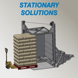 pallet changer stationary solutions