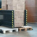 stationary pallet exchanger side mover boxes