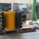pallet changer stationary side mover