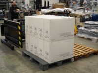 pallet changer mobile side mover boxes